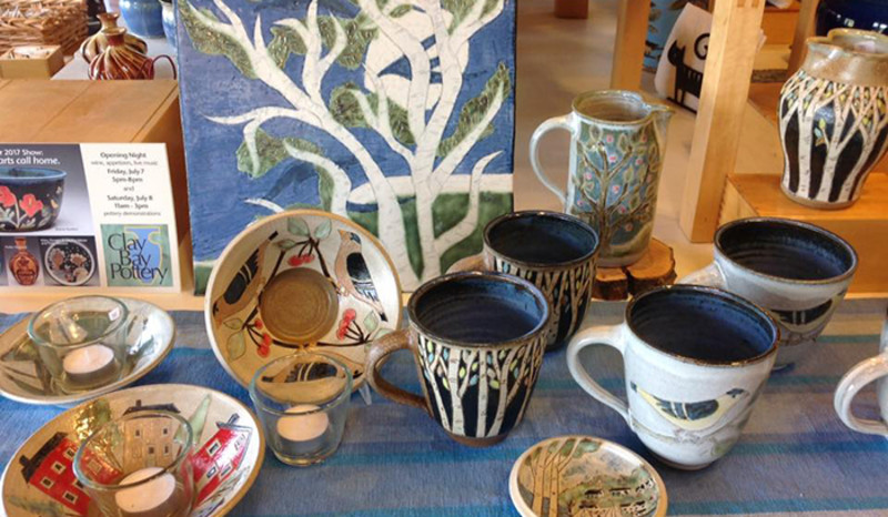 Clay Bay Pottery and Gallery