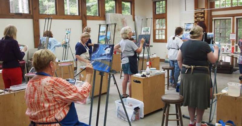 Guenzel Gallery at Peninsula School of Art