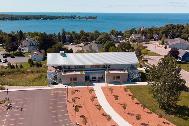 Donald & Carol Kress Pavilion & Egg Harbor Library (3)