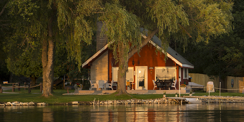 Chalet on the Shore