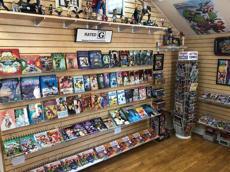 Megabrain Comics & Arcade