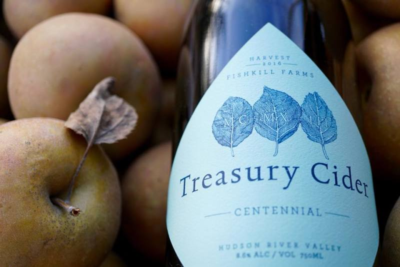 Treasury Cider at Fishkill Farms