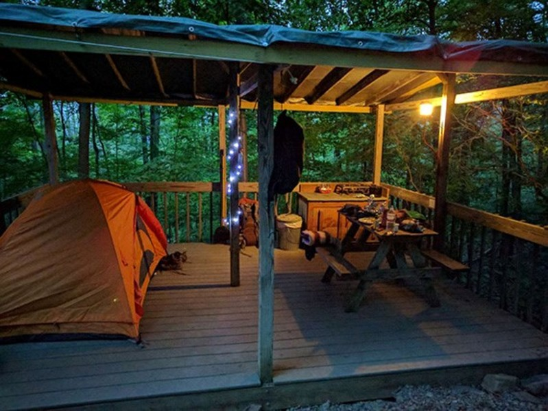 Malouf's Mountain Campground
