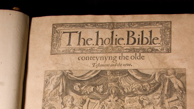 Quayle Rare Bible Collection Featured Image