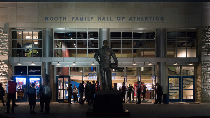 Booth Family Hall of Athletics Featured Image