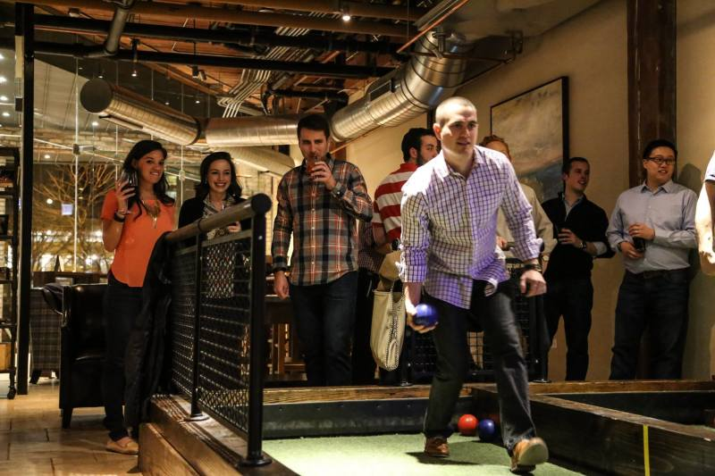 Group Bocce