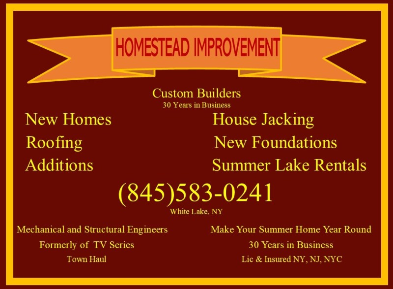 Homestead Improvement