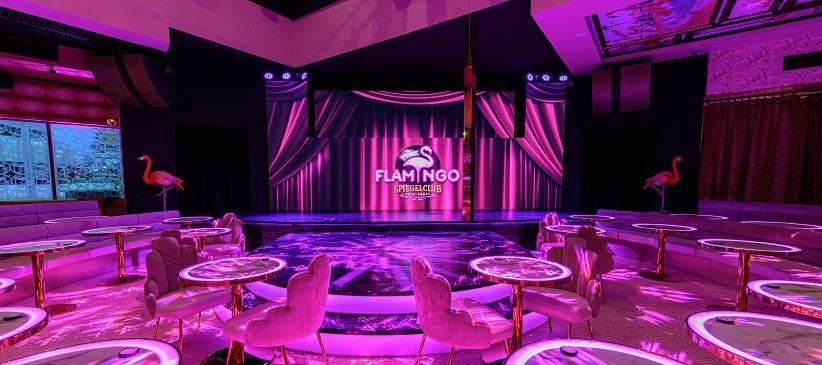 The Pink Flamingo Spiegelclub