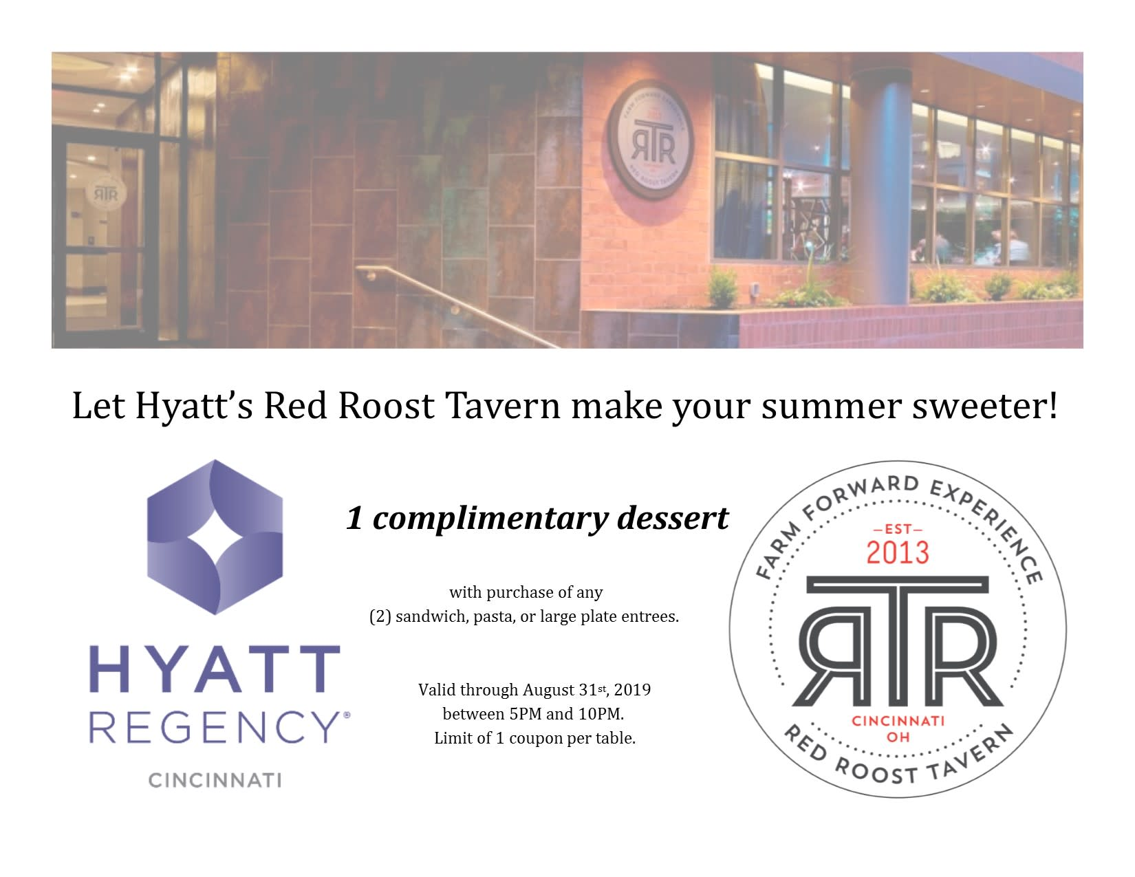 Make Your Summer Sweeter at RTR!