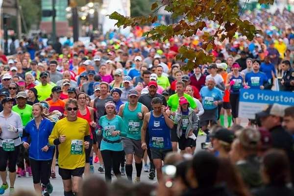 La Maratón de Houston: Una fiesta para los espectadores