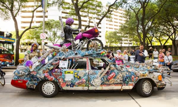 Houston, Get Ready for Art Car Weekend