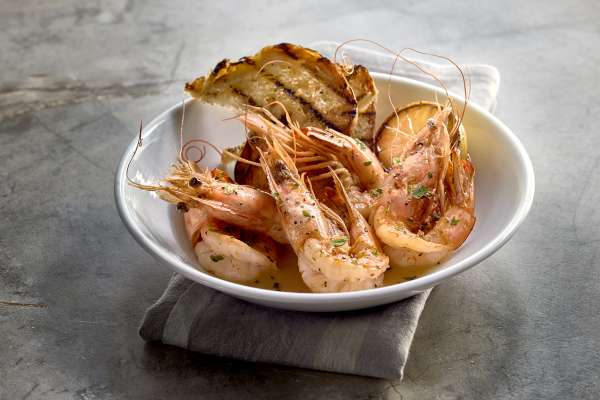 Grotto Shrimp Dish