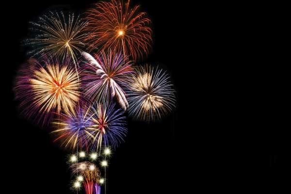 NYE Fireworks in Conroe