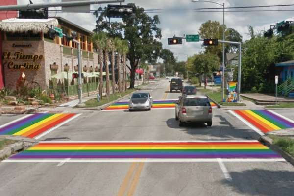 Pride Crosswalk Coming to Montrose