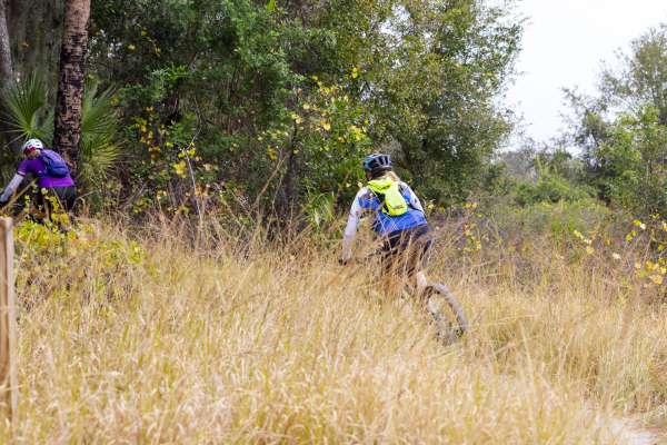Alafia State Park bike path