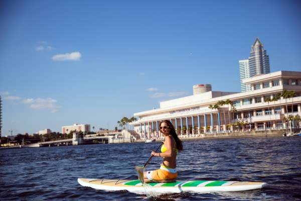Waterfront Paddle Boarding