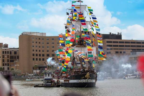 Gasparilla Pirate Ship