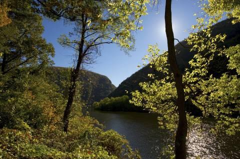 Delaware Water Gap in the Pocono Mountains
