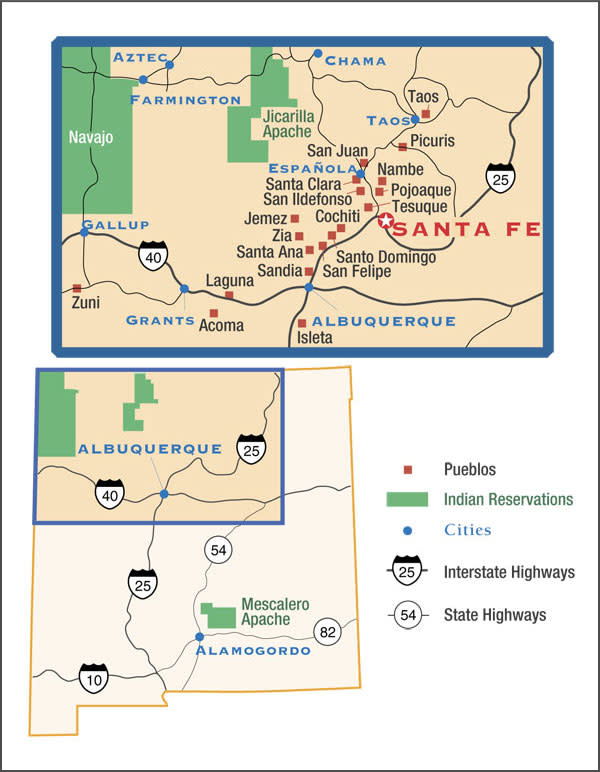 Pueblos New Mexico Map.Indian Pueblos New Mexico Native American Pueblos Native