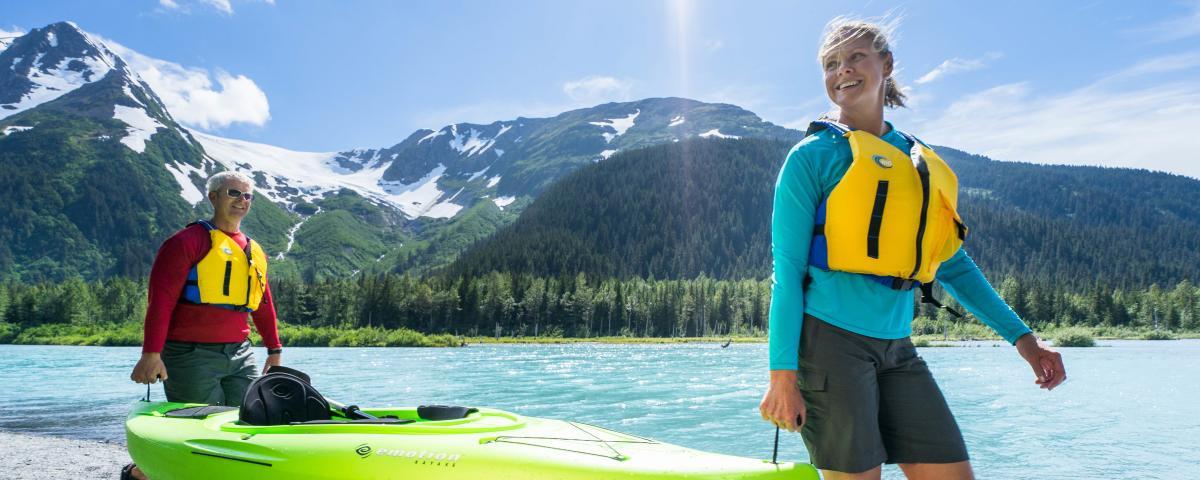 Kayaking Canoeing Amp Sup Visit Anchorage