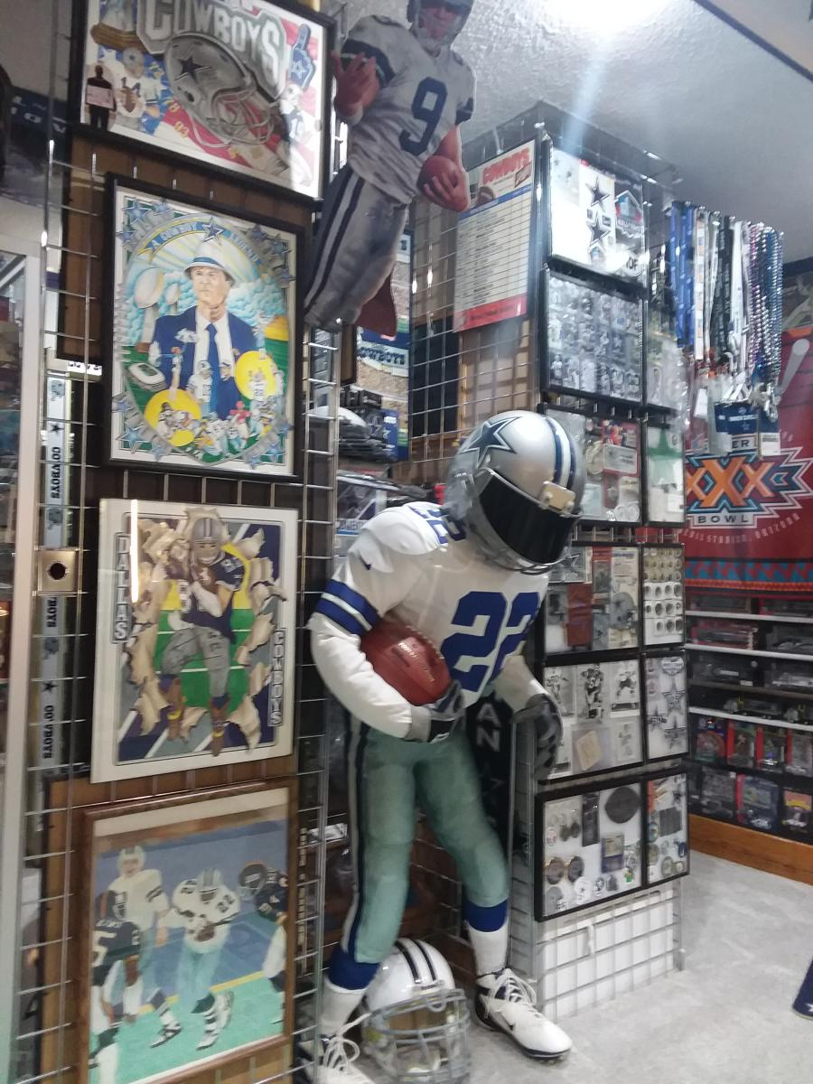 huge selection of b653b ff2da Q&A: Welcome to the Stoney Kersh Dallas Cowboys Memorabilia ...