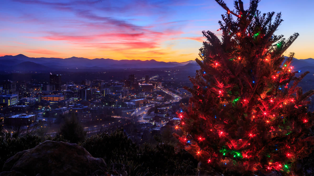 Christmas Tree Farm Asheville Nc.Top 8 Places To See Holiday Lights In Asheville N C