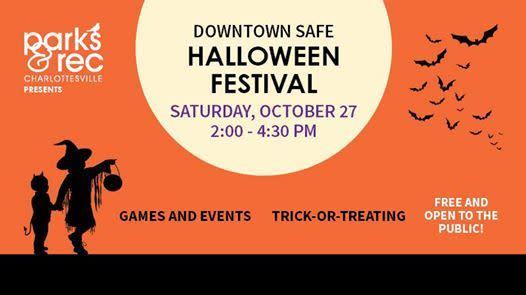Downtown Safe Halloween Charlottesville 2020 Downtown Safe Halloween Festival Returns Saturday, October 27, 2018