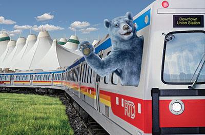 Travel by Denver Airport Rail | VISIT DENVER