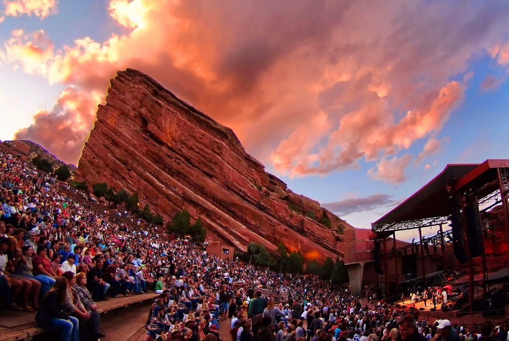 Fall In Love With Red Rocks Ampitheatre