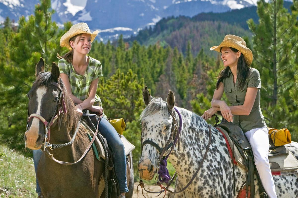 Horseback Riding In Rocky Mountain National Park