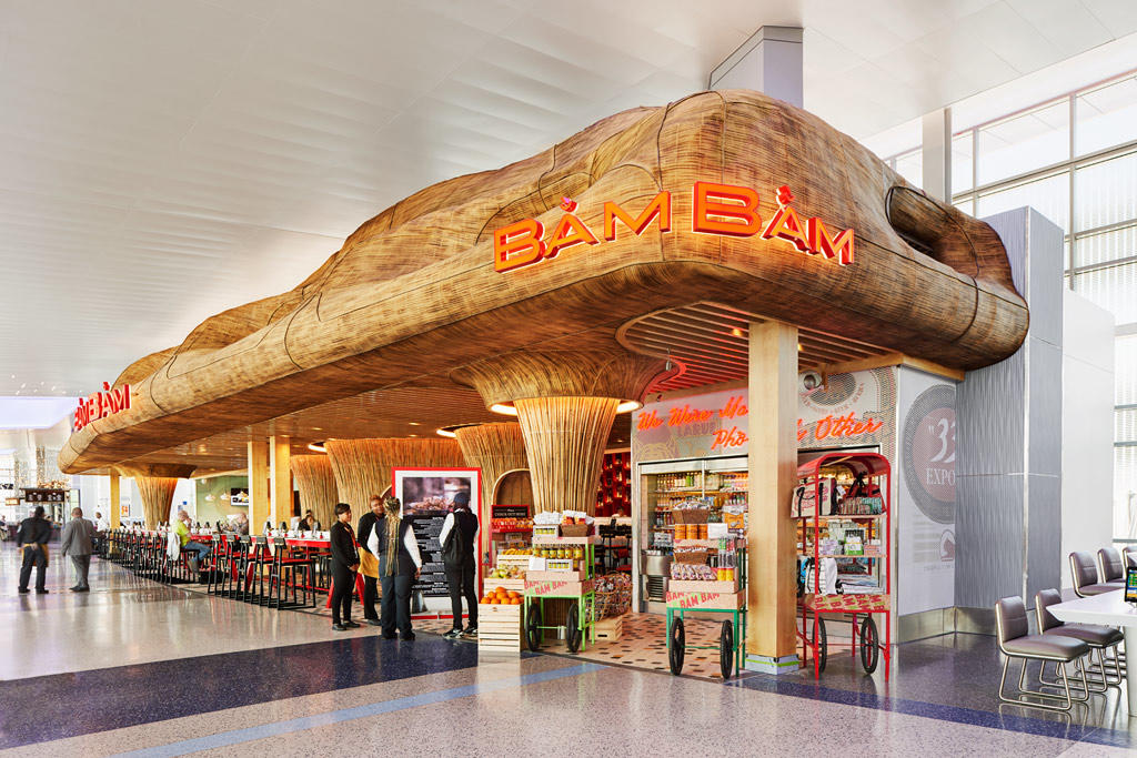 Where You Should Eat At George Bush Intercontinental Airport