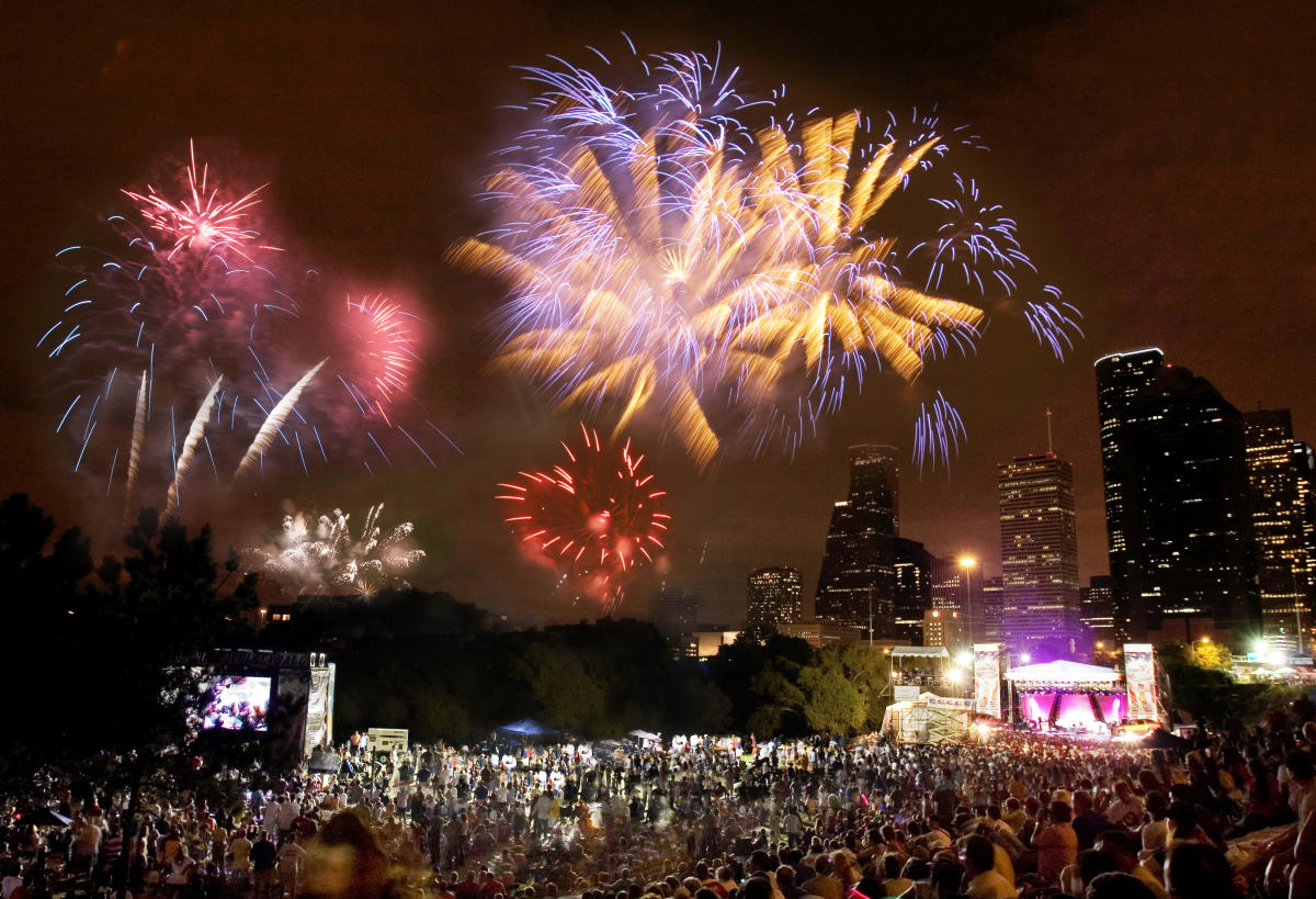 Houston July 4th Events Find Fireworks Concerts