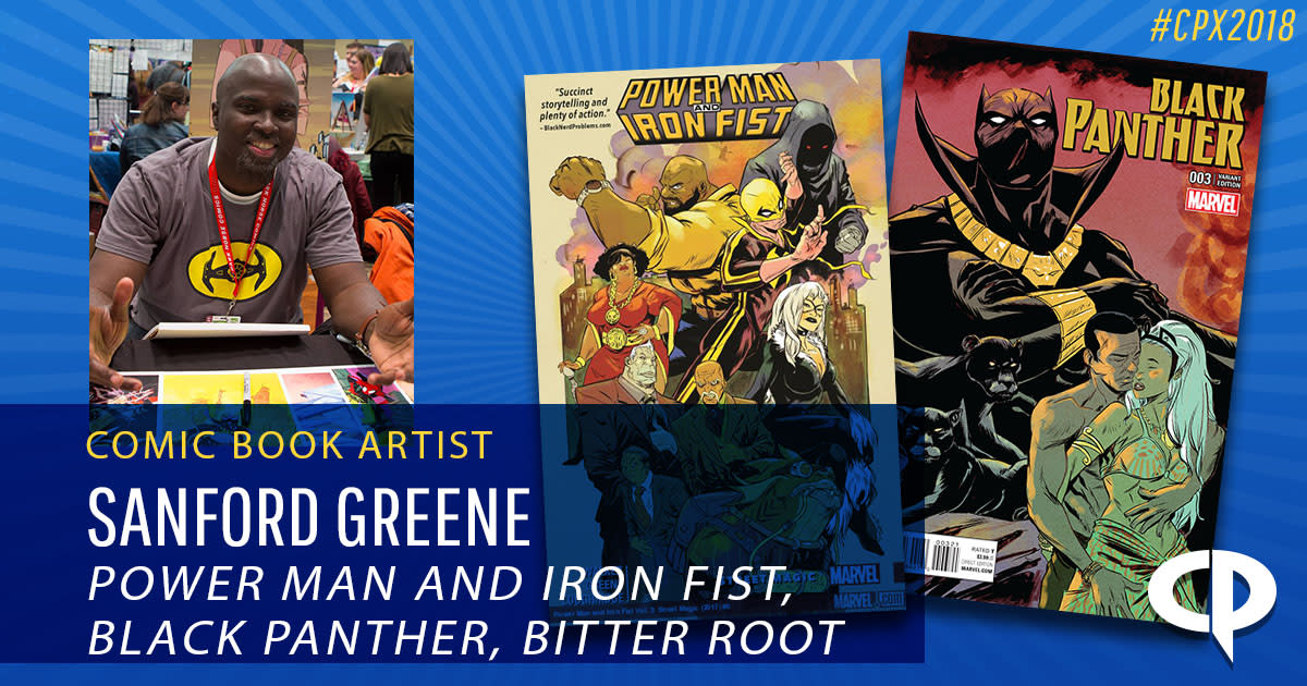 Sanford Greene in Houston - Power Man and Iron Fist 6239bcc36109
