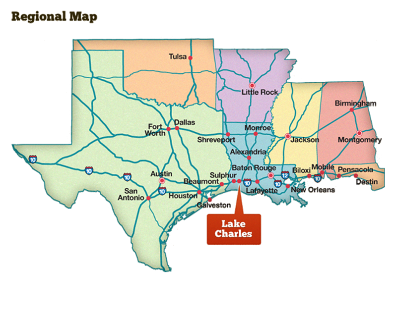 Lake Charles Southwest Louisiana Has A Lots To Offer It S Visitors