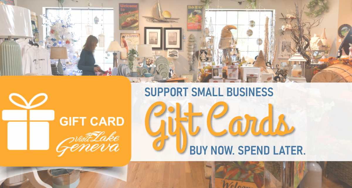 Lake Geneva Area Gift Card Directory