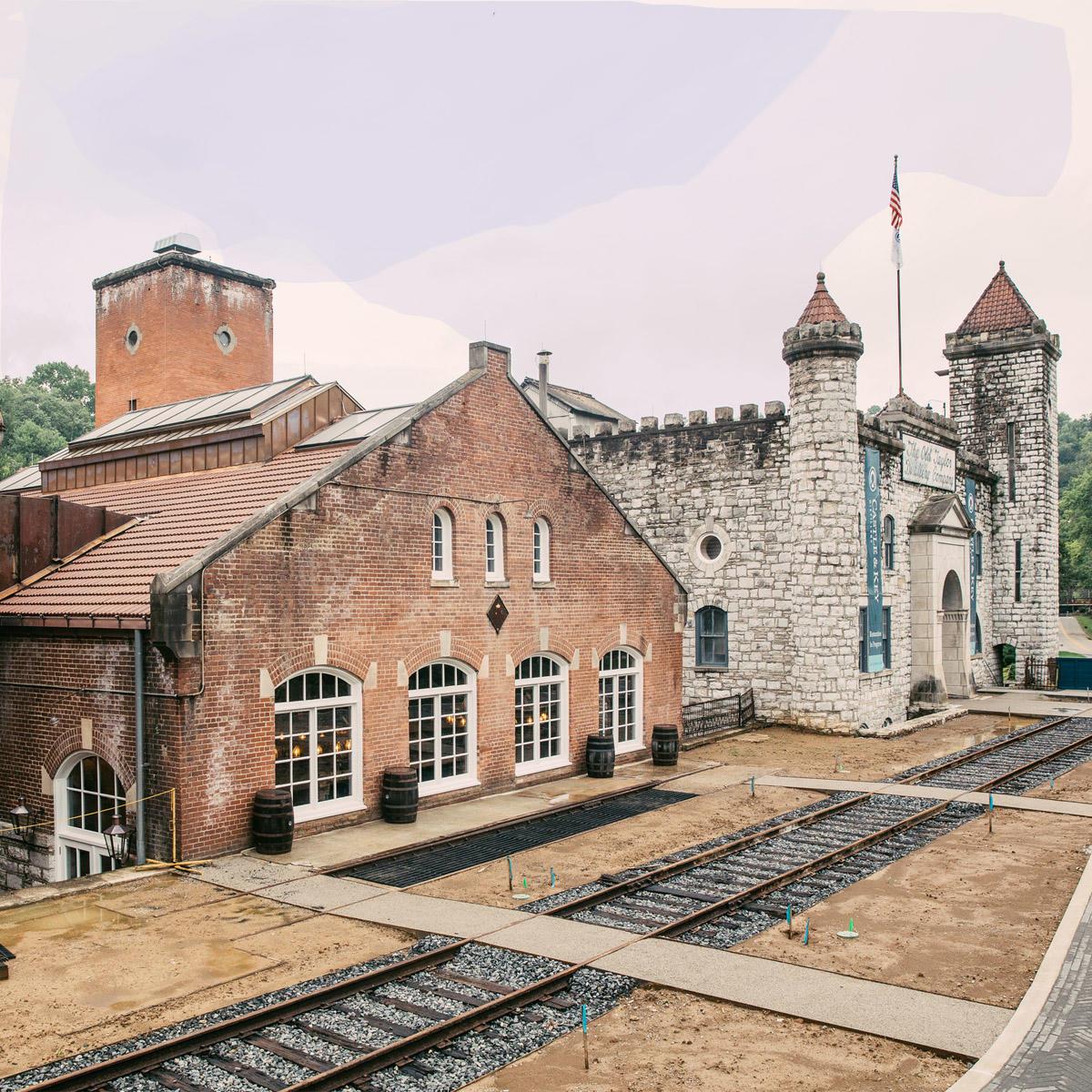 Bourbon Distilleries near Lexington, Kentucky: Horse Capital