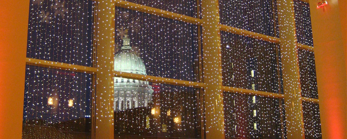 Holiday Light Show At Overture Center >> Winter Wonderland Itinerary Madison Wi