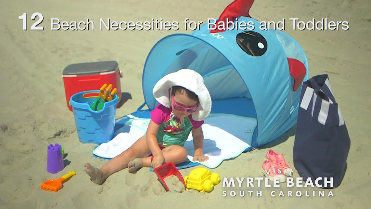 bb0151cfbef Twelve Beach Necessities for Babies and Toddlers