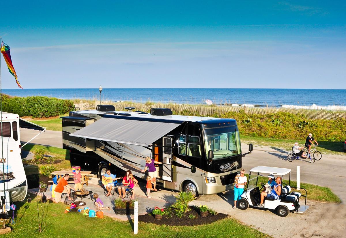 myrtle beach campgrounds  u0026 rv resorts
