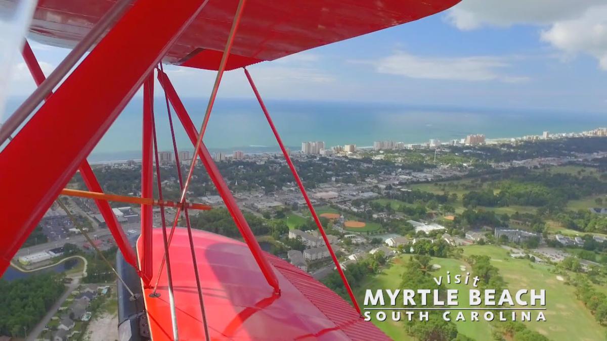 Visit Myrtle Beach Blog: Myrtle Beach Biplane Tours