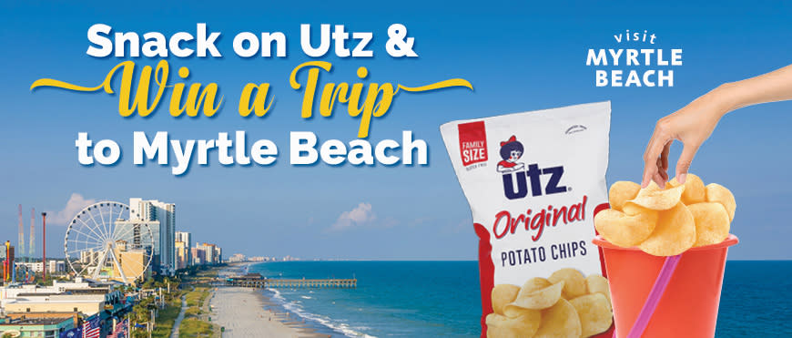 Utz Snacks Vacation Giveaway | Visit Myrtle Beach, SC