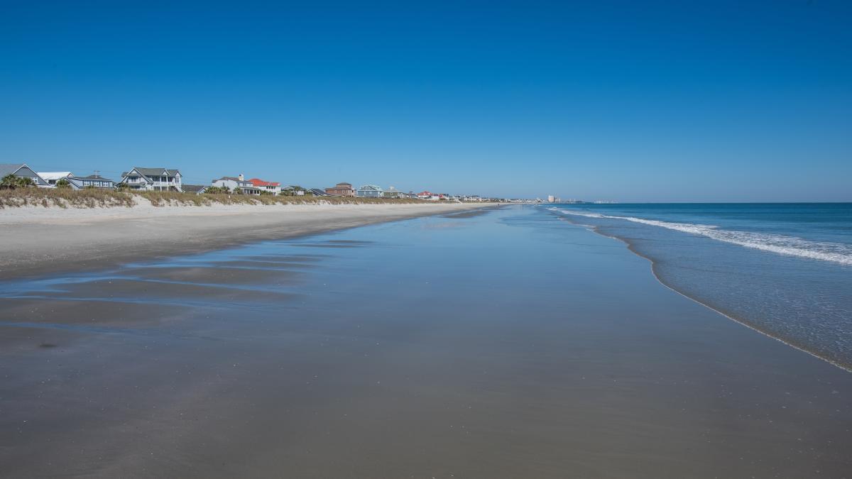 Myrtle Beach Sc Beach Renourishment Project