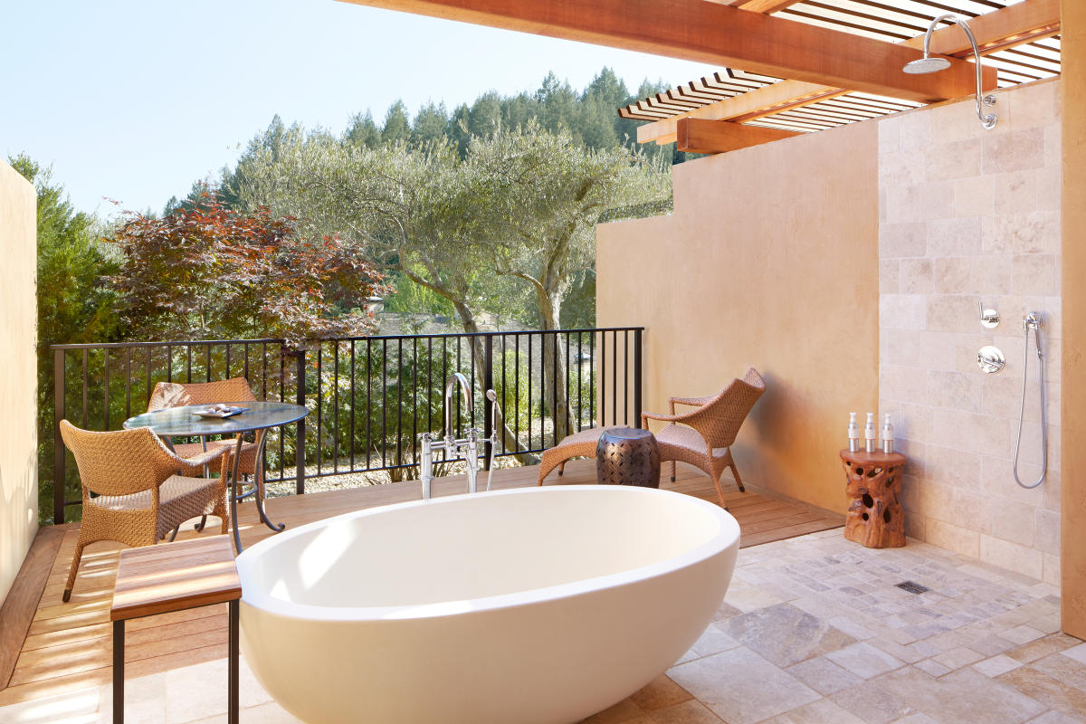 Napa Valley Hotels with Over-the-Top Bathrooms - The Visit ...