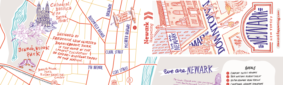 Request A Newark Map Streets Directions