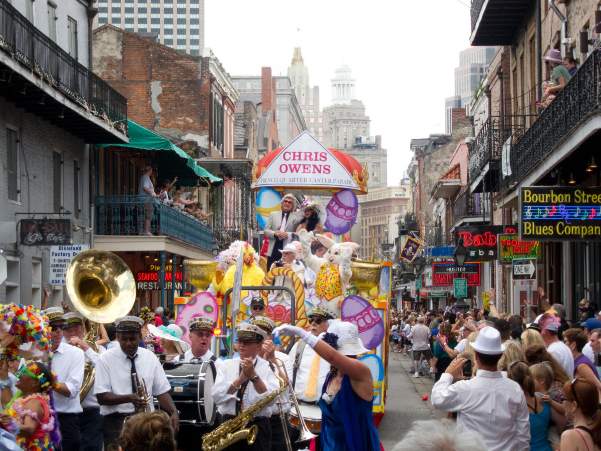 We Were Taking Our Easter Walk In Owen >> Easter In New Orleans