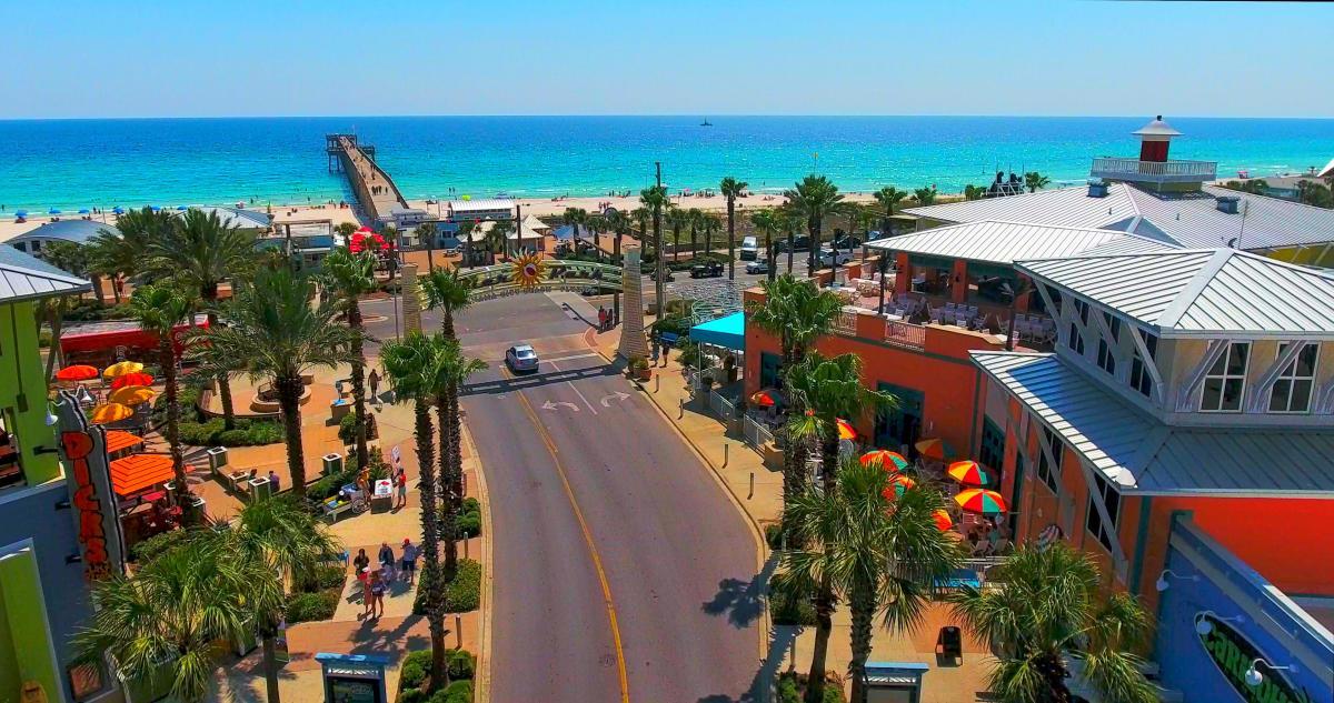 Pier Park In Panama City Beach Shopping Entertainment