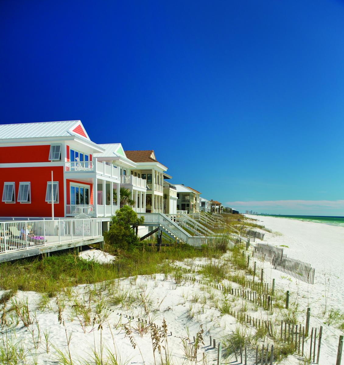 80 Beach Houses  Town Home Rentals in Panama City Beach FL