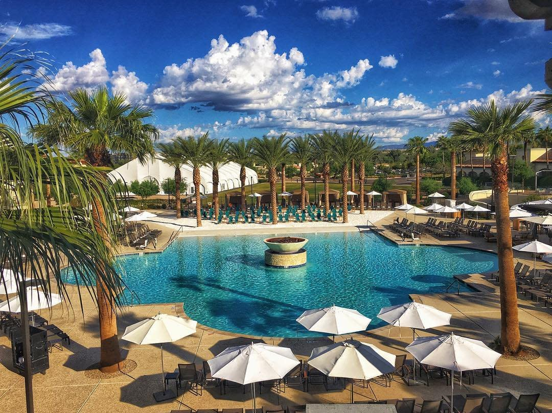 Best Phoenix And Scottsdale Resort Pools Visitphoenix Com