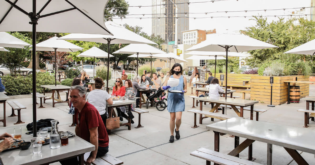 50 Restaurant Patios And Places To Eat Outdoors In Raleigh N C