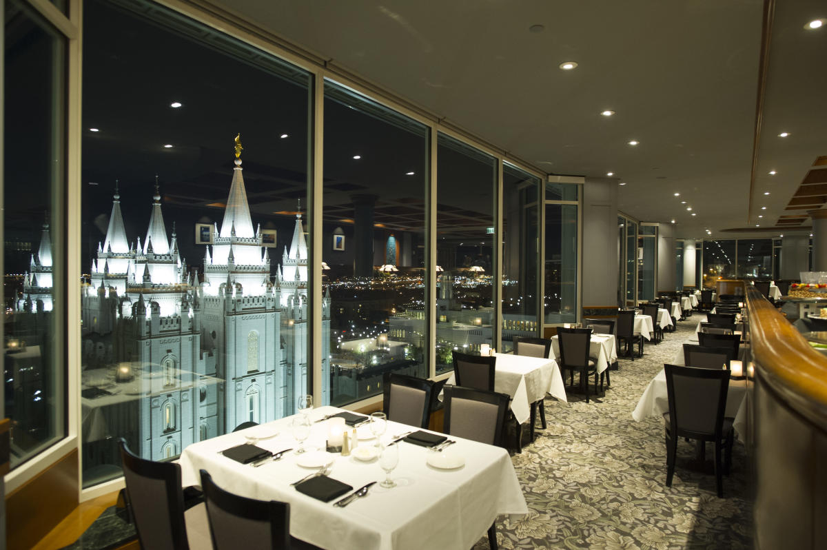 Dining At Temple Square